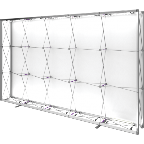 Embrace 12.5ft Backlit Full Height Push-Fit Tension Fabric Display