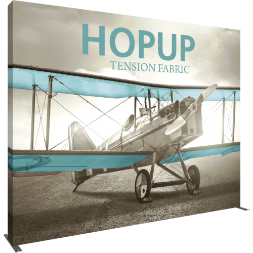 Hopup 13ft Straight Extra Tall Tension Fabric Display
