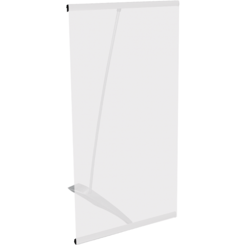 L-Mini Spring Back Banner Stand