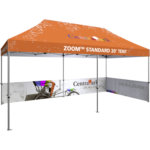 Zoom Standard 20 Popup Tent Half Wall Kit Only