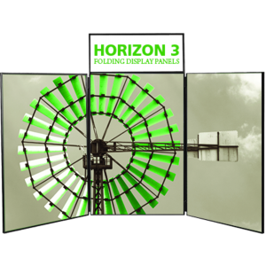 Horizon 3 Tabletop Folding Panel Display
